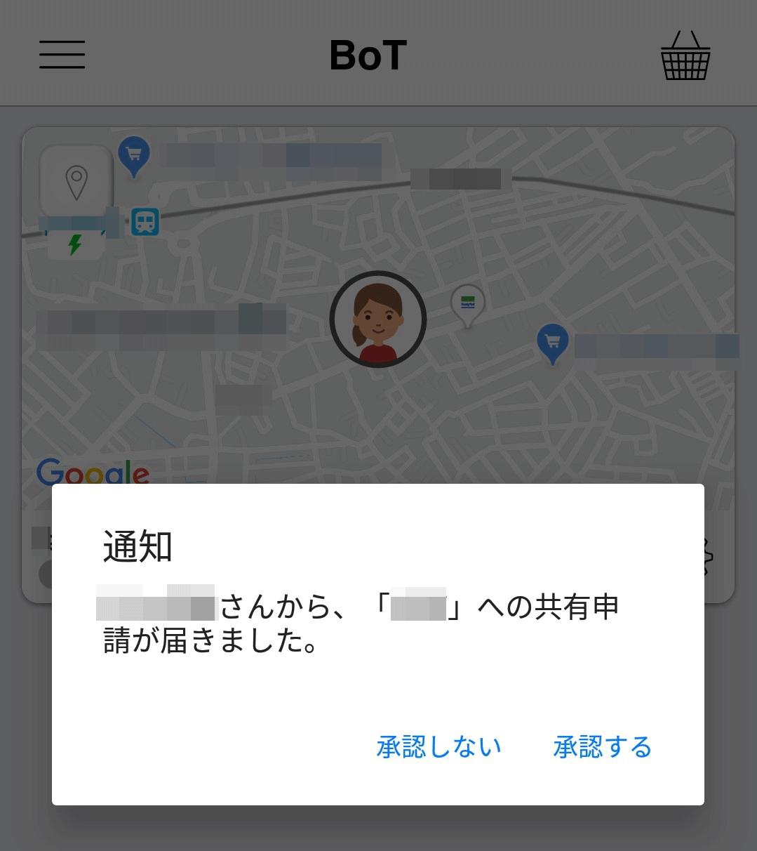 GPS BoT共有